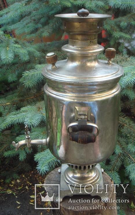 Самовар Братья Поповы 4 литра, фото №5