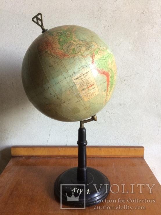 Польский довоєнний глобус - Eugeniusz Romer - Lwów, фото №2