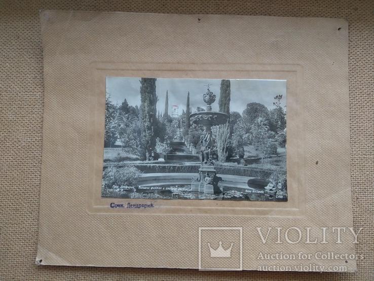 Набор из 4шт. фото с паспарту Сочи, фото №3