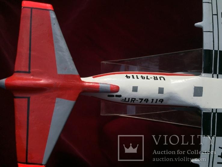 Настольная модель самолета АН-74, фото №5