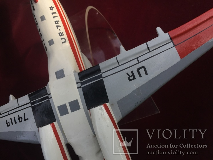 Настольная модель самолета АН-74, фото №6