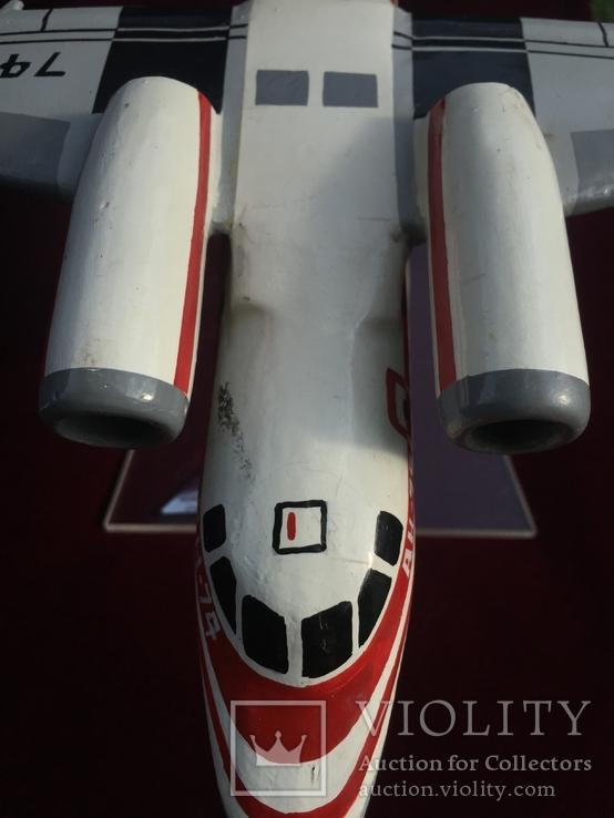 Настольная модель самолета АН-74, фото №10
