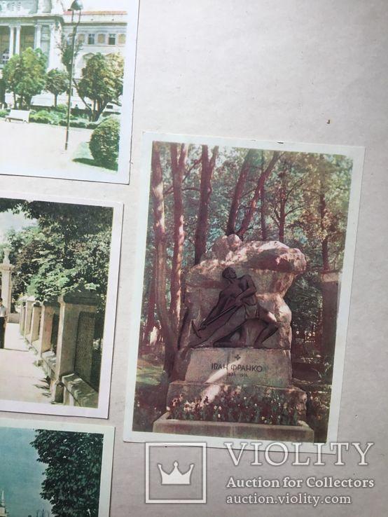 Старые открытки  Львов. 8 штук. 50-е., фото №3