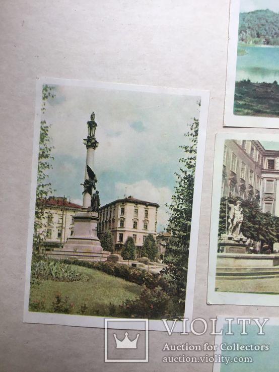 Старые открытки  Львов. 8 штук. 50-е., фото №6