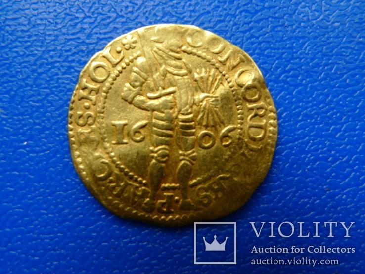 Дукат. 1606 год. Голландия