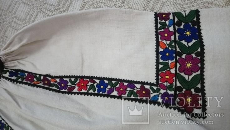 Сорочка Борщівська квіткова, фото №3