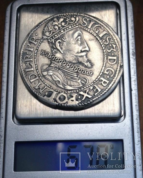 Орт Сигизмунда 3 Вазы 1614г.(R2)