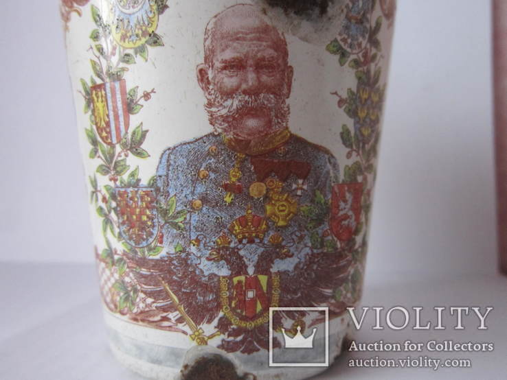 Ювілейні стакани імператорів Австрії і Германії-ПСВ.-3, фото №3