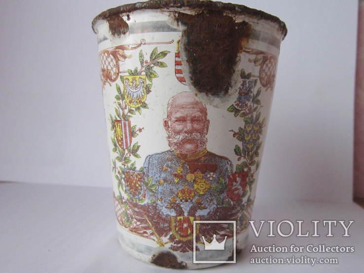 Ювілейні стакани імператорів Австрії і Германії-ПСВ.-3, фото №4