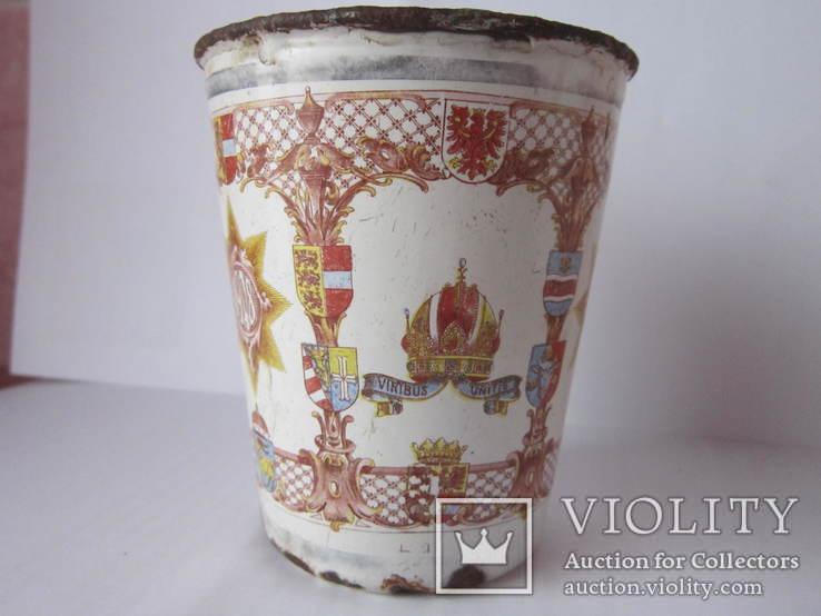 Ювілейні стакани імператорів Австрії і Германії-ПСВ.-3, фото №6