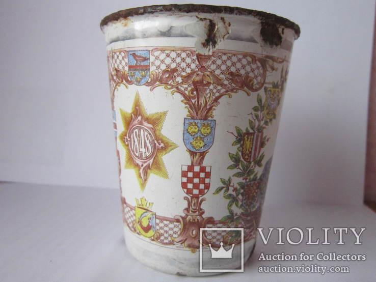 Ювілейні стакани імператорів Австрії і Германії-ПСВ.-3, фото №8