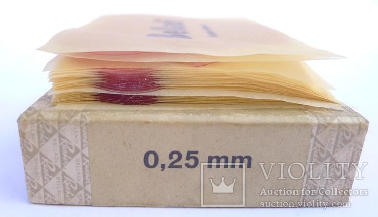 Стариная упаковка с пластинами воска Ruscher Belladi. Ges/ Gesch, фото №10