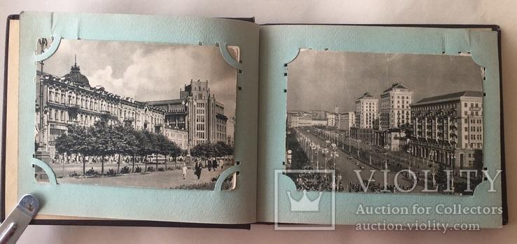 Альбом. Открытки Киев 1954 г. серия 300 летие 22 шт. + 2