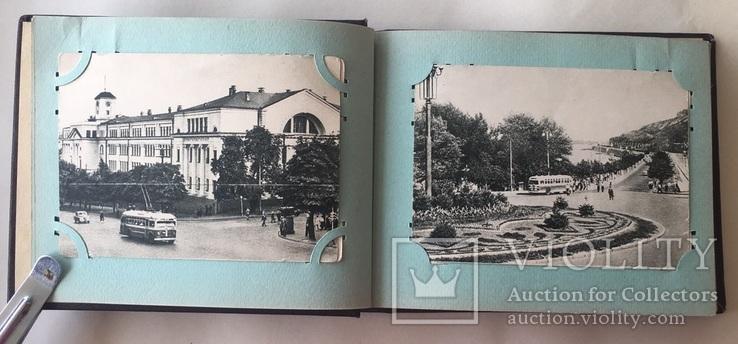 Альбом. Открытки Киев 1954 г. серия 300 летие 22 шт. + 2, фото №5