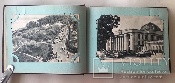 Альбом. Открытки Киев 1954 г. серия 300 летие 22 шт. + 2, фото №6