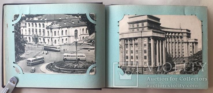 Альбом. Открытки Киев 1954 г. серия 300 летие 22 шт. + 2, фото №8