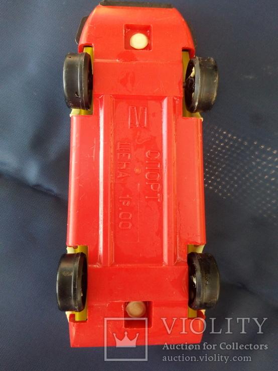 Спортивная мини машина. Период СССР, фото №4