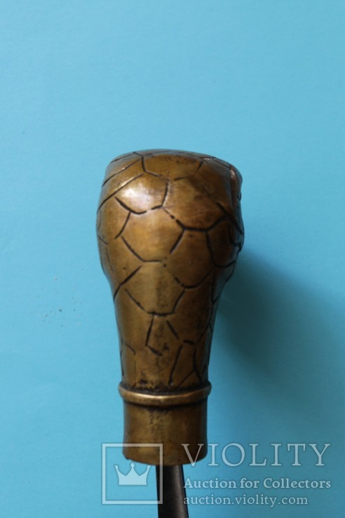 """Змей"" рукоять для трости, бронза, фото №5"