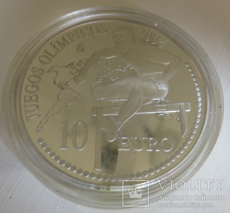 10 евро 2004 года, Испания'' Летние Олимпийские игры. '', фото №2