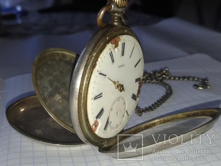 Карманные Часы OMEGA-1857738 Серебро 1889год