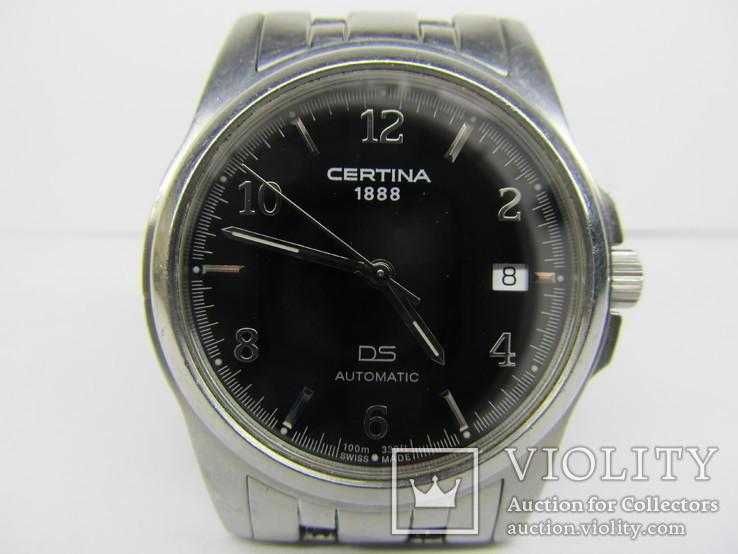 Часы - Certina DS-Avtomatic,  водозащита 100 м., автомат ЕТА, идут