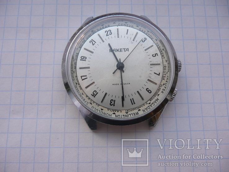 Часы Ракета, 24-часа