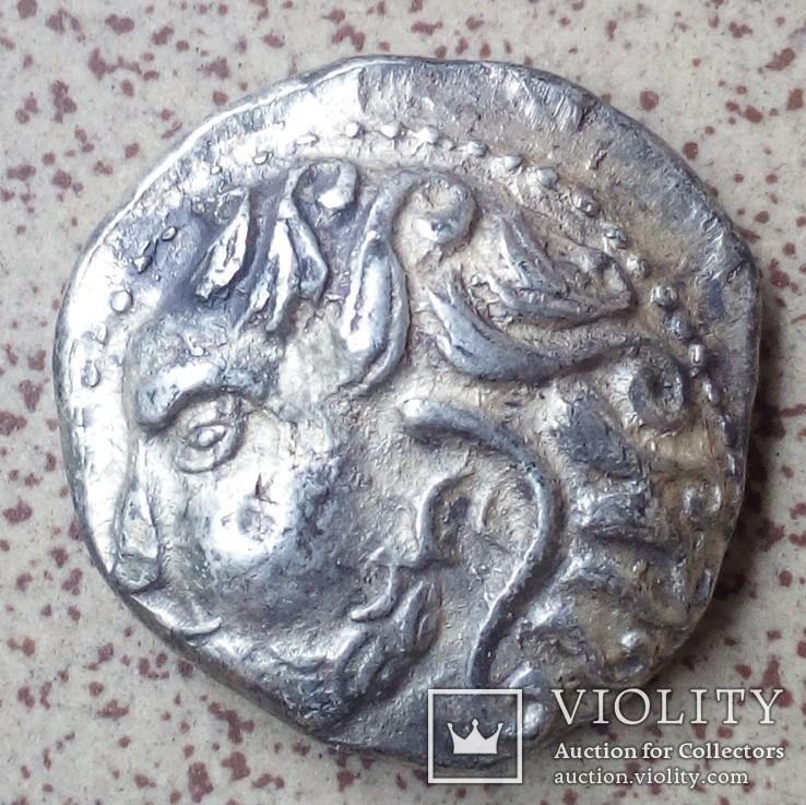 Подражания тетрадрахмам Филиппа 2-го Македонского.