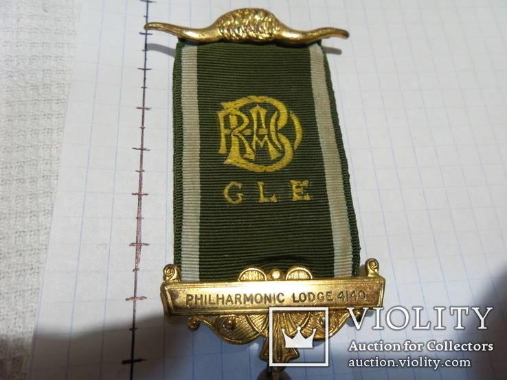 Масонская медаль знак масон 2147, фото №3