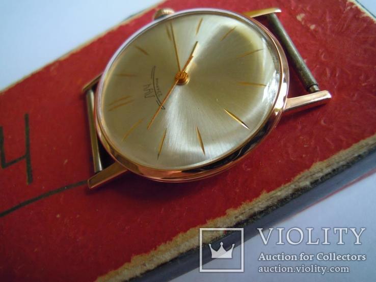 Золотые часы Луч 583, фото №5