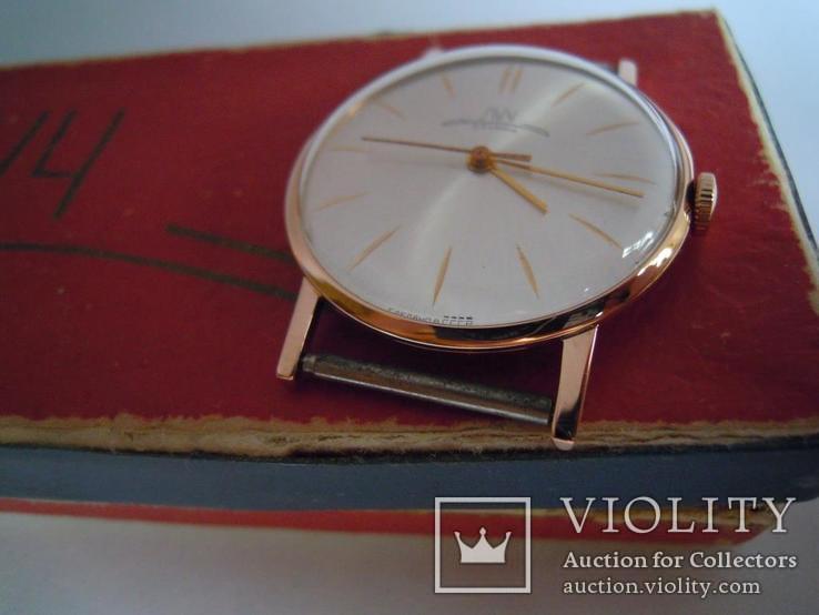 Золотые часы Луч 583, фото №7