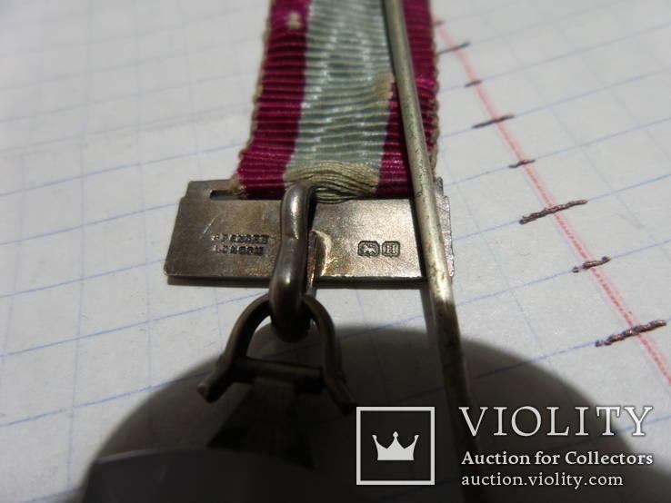 Масонская медаль Серебро знак масон 2530, фото №7