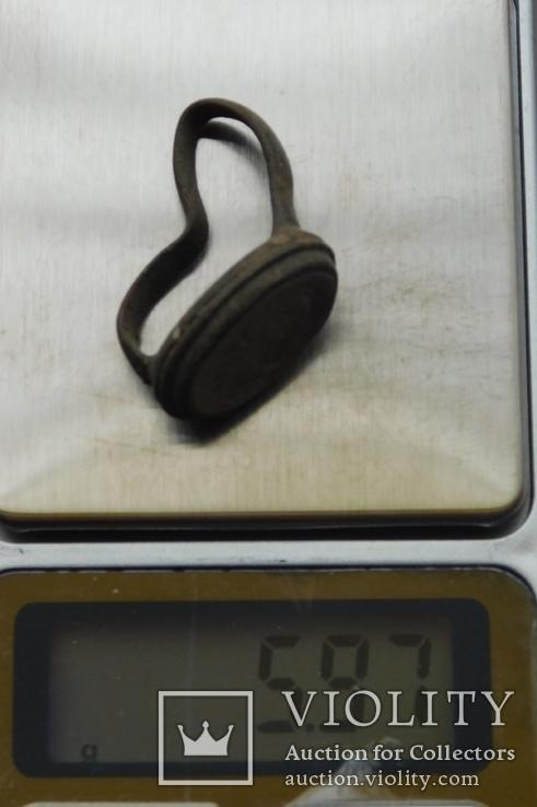 Перстень старинный, фото №8