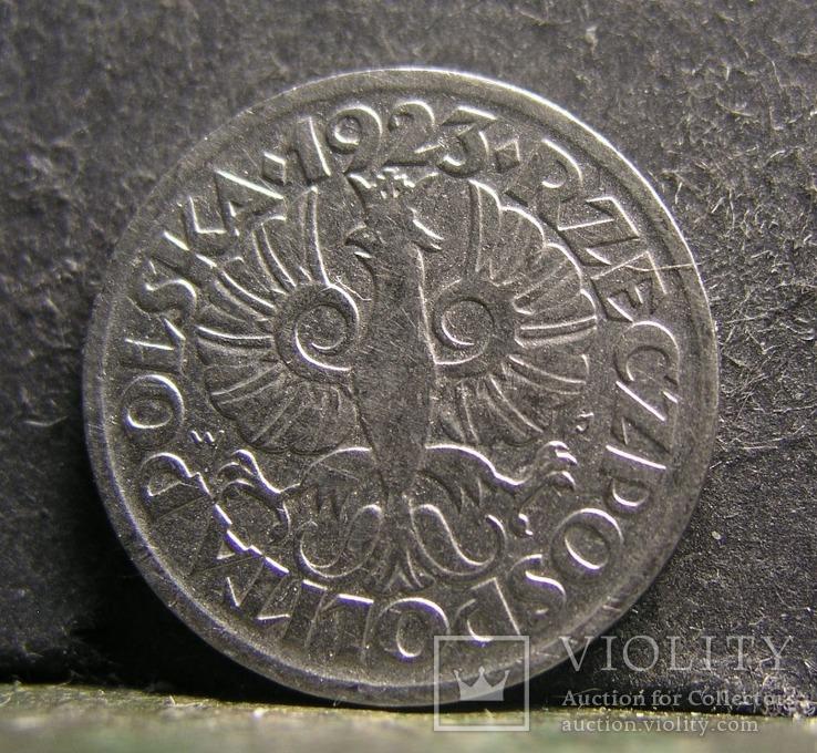 10 грошей 1923 Польша № 407, фото №2
