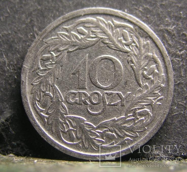 10 грошей 1923 Польша № 407, фото №3