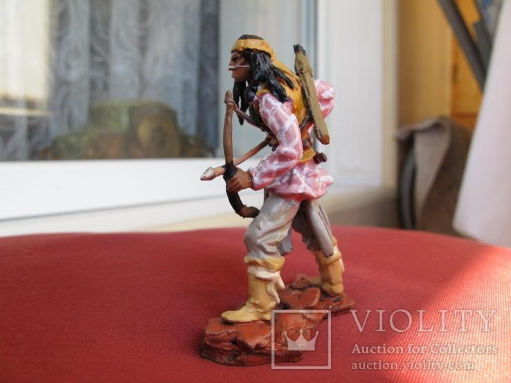 Индеец Geronimo Оловянный солдат 80 см, фото №5