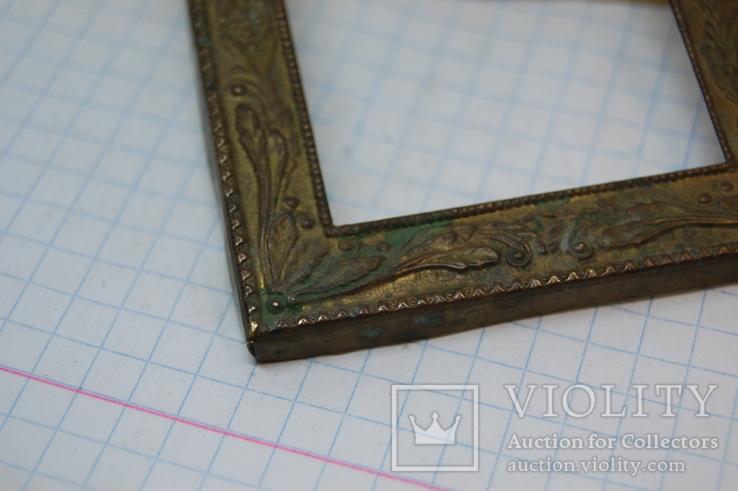 Рамочка для картины или иконки. металл. 60х70мм, фото №3