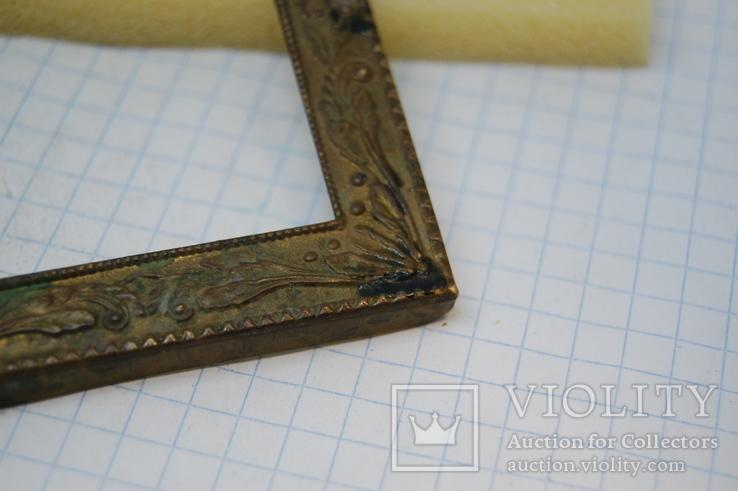 Рамочка для картины или иконки. металл. 60х70мм, фото №4