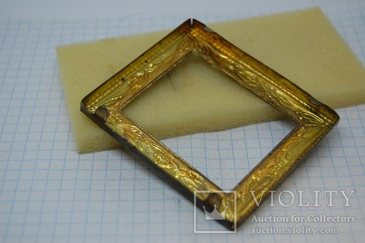 Рамочка для картины или иконки. металл. 60х70мм, фото №6