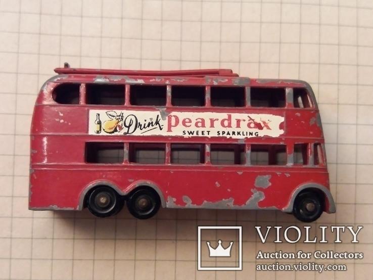 Троллейбус двохэтажный London trolleybus by lesney N 56, фото №8