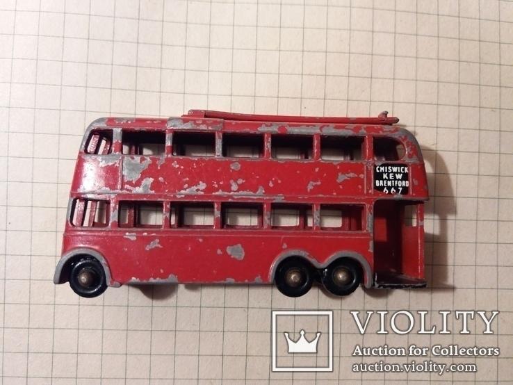 Троллейбус двохэтажный London trolleybus by lesney N 56, фото №9