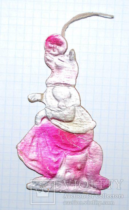 Картонаж - Лиса/колобок, Медведь с шаром, Рыбка., фото №5