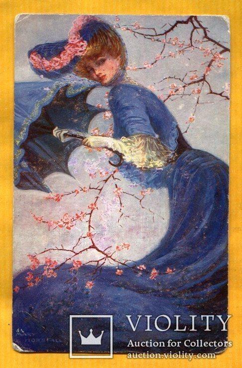 М.Хорсфалл Девушка модерн до 1917 г, фото №2