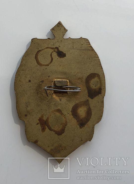 Морские знаки 3шт. в тяжёлом металле, фото №7