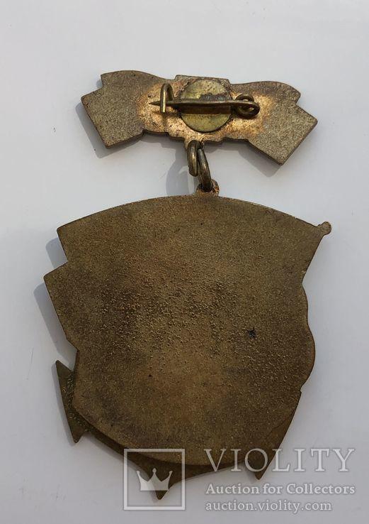 Морские знаки 3шт. в тяжёлом металле, фото №9