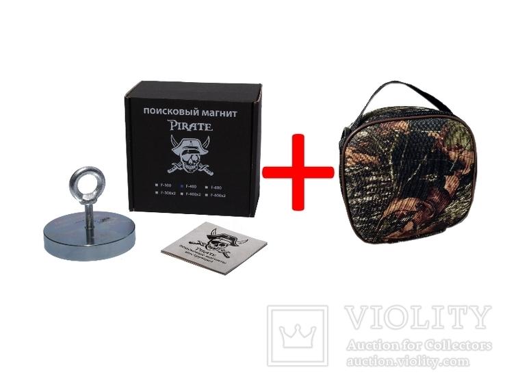 Поисковый магнит Пират F120 +Сумка для переноски магнита, фото №2