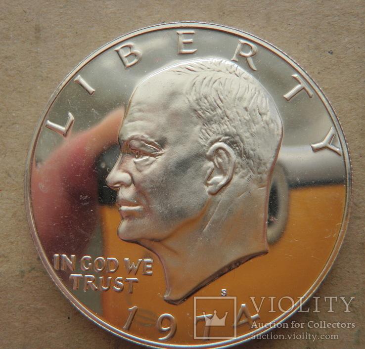 1 Доллар 1974 Пруф, фото №3