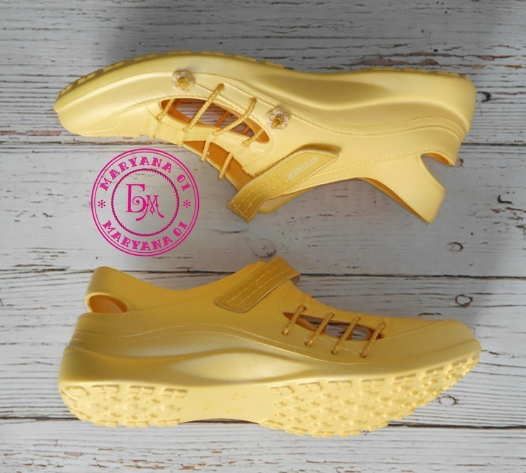 Новинка кроксы, аквашузы Steiner желтые 37 размер, фото №3