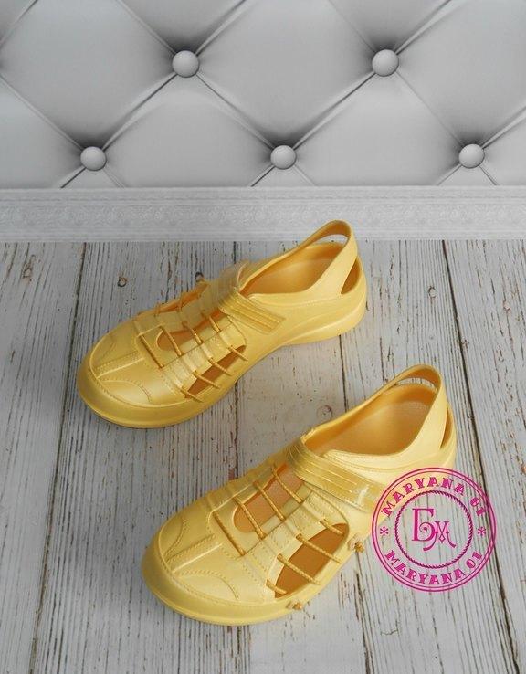 Новинка кроксы, аквашузы Steiner желтые 37 размер, фото №5