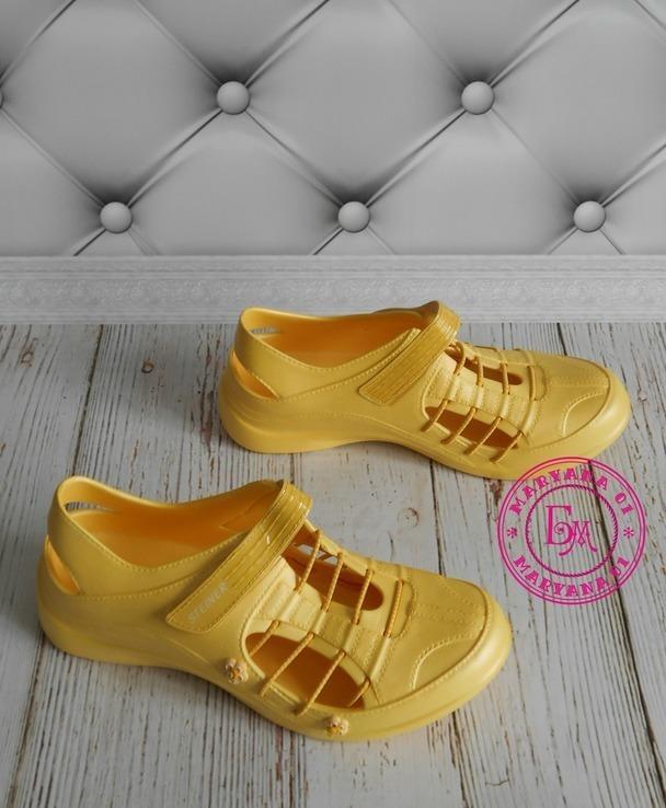 Новинка кроксы, аквашузы Steiner желтые 37 размер, фото №10
