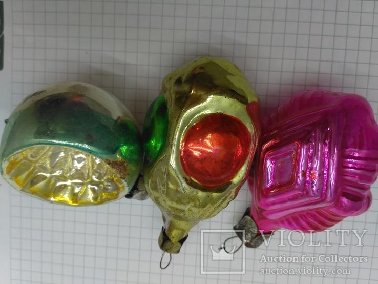 Набор ёлочных игрушек, СССР, фото №6